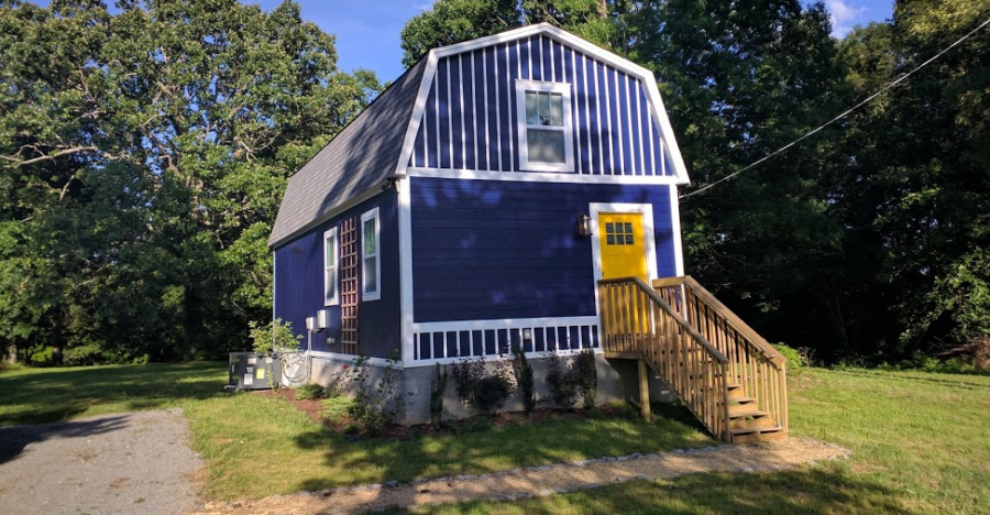 Jason's Impressive and Affordable 800 Square Foot Barn Home