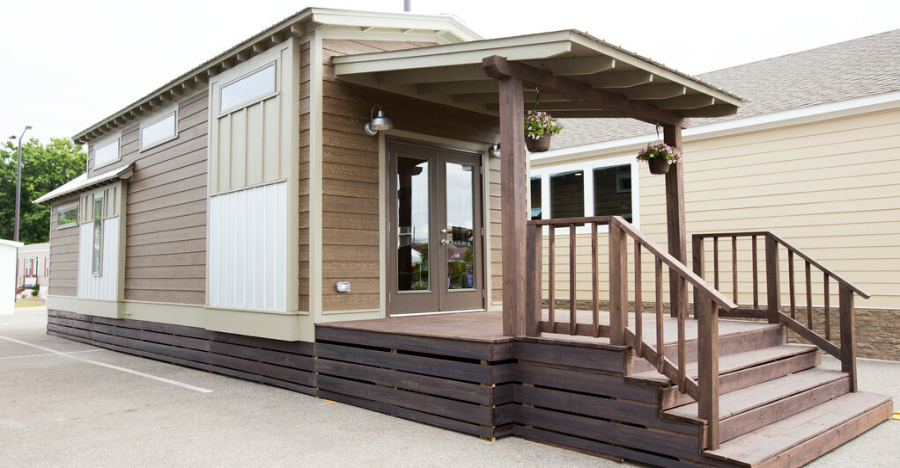 Compact Cottages Park Models Have Very Comfortable and Compact Floor Plans